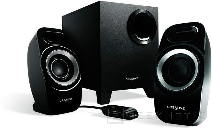 Creative presenta los nuevos altavoces Inspire T6300 y T3300, Imagen 1
