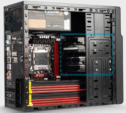Nueva caja Micro-ATX SIlverstone SST-PS08B, Imagen 1