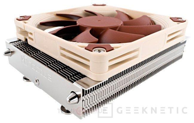 Noctua NH-L9, disipadores de perfil bajo para CPU, Imagen 1