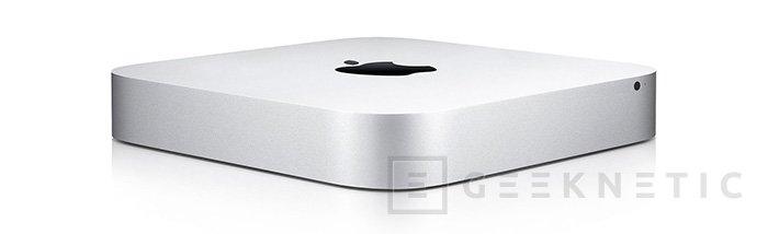 Apple renueva el Mac Mini. Ahora sin unidad óptica, Imagen 1
