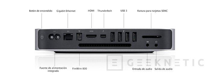 Apple renueva el Mac Mini. Ahora sin unidad óptica, Imagen 2