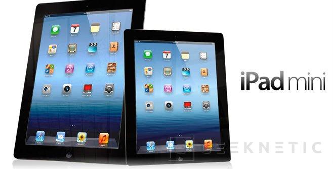 Apple actualiza el nuevo iPad y lanza el iPad Mini, Imagen 2