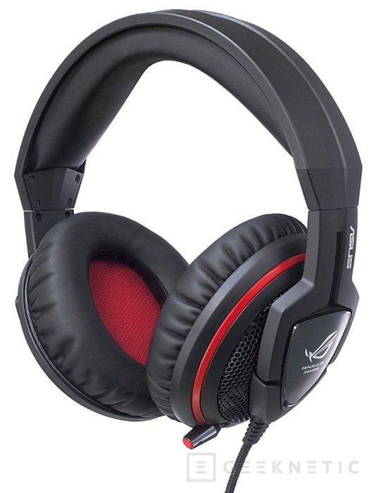 ASUS muestra los nuevos ROG ORION, auriculares gaming, Imagen 1