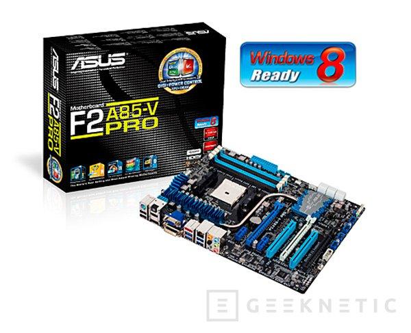 Nueva serie F2A85 de placas base ASUS, Imagen 1