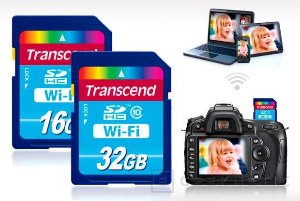 Trasncend lanza tarjetas SDHC con WiFi integrado, Imagen 1