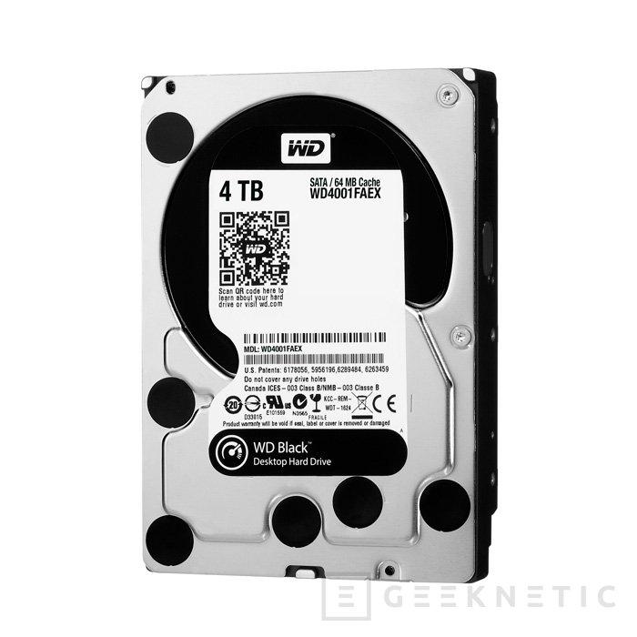 Western Digital presenta un disco duro de 4 TB y alto rendimiento, Imagen 1