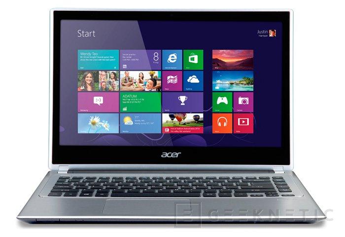 Nuevos Acer Aspire Touch V5, Imagen 2