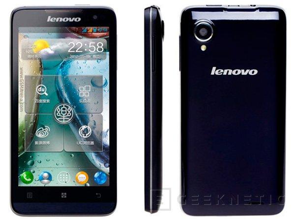 Lenovo P770, smartphone con gran autonomía con un precio económico, Imagen 1