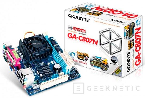 Gigabyte GA-C847N y GA-C807N, nuevas placas Mini-ITX, Imagen 1