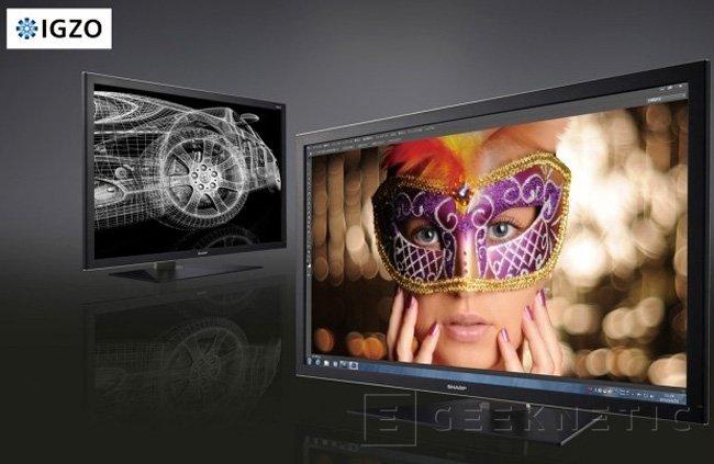 Sharp enseña el PN-K321, monitor con 4k de resolución, Imagen 1