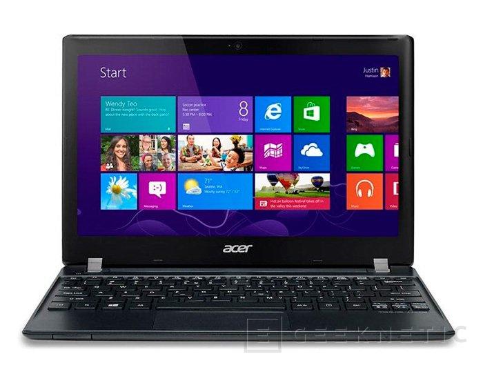 Nuevo Acer TravelMate B113, Imagen 2