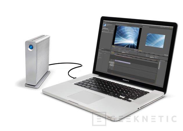 LaCie añade USB 3.0 y Thunderbolt a sus discos externos d2, Imagen 2