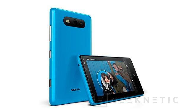 Nokia anuncia fechas y precios para los Lumia 920 y 820 en España, Imagen 2