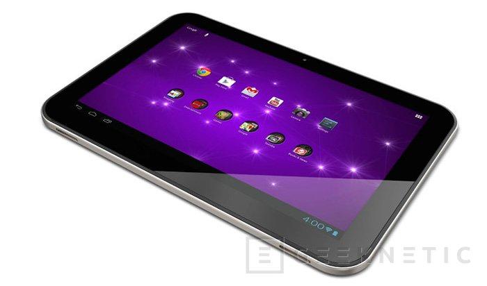 Toshiba Excite 10 SE, tablet Android de bajo coste, Imagen 1