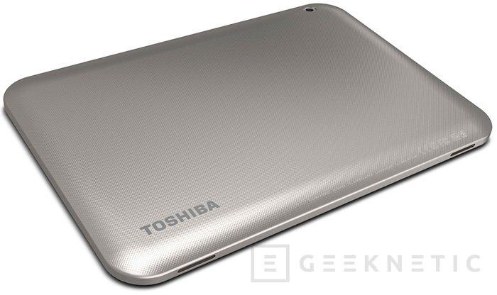 Toshiba Excite 10 SE, tablet Android de bajo coste, Imagen 2