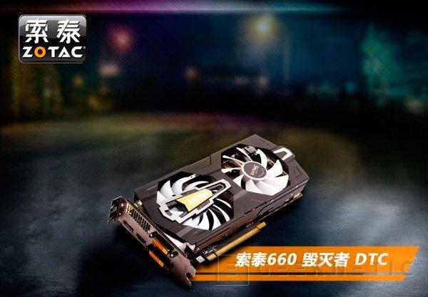 Zotac muestra una nueva GTX 660 personalizada, Imagen 2