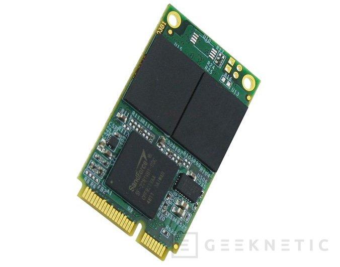 Mushkin Atlas SSD, 480 GB en formato mSATA, Imagen 2