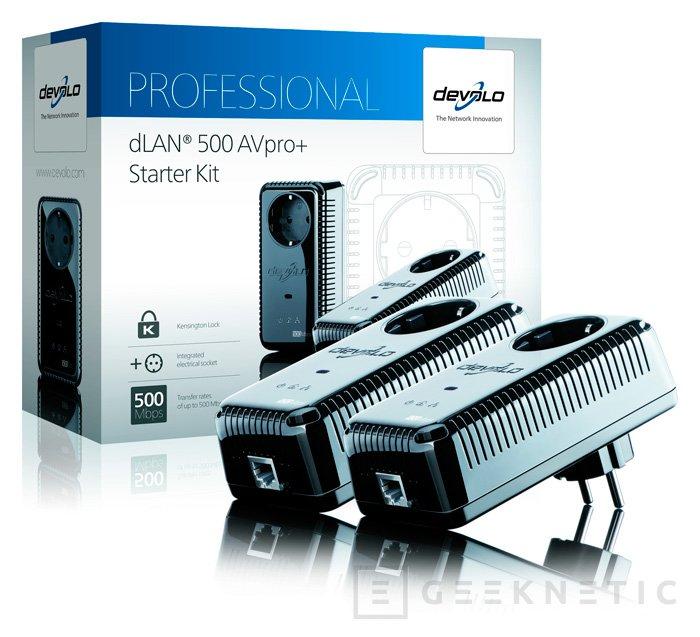 Nuevos PLC dLAN 500 AVPro+ de devolo, Imagen 1