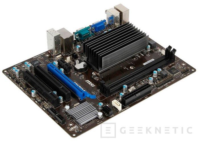 MSI C847MS-E33, placa Micro-ATX con procesador integrado, Imagen 2