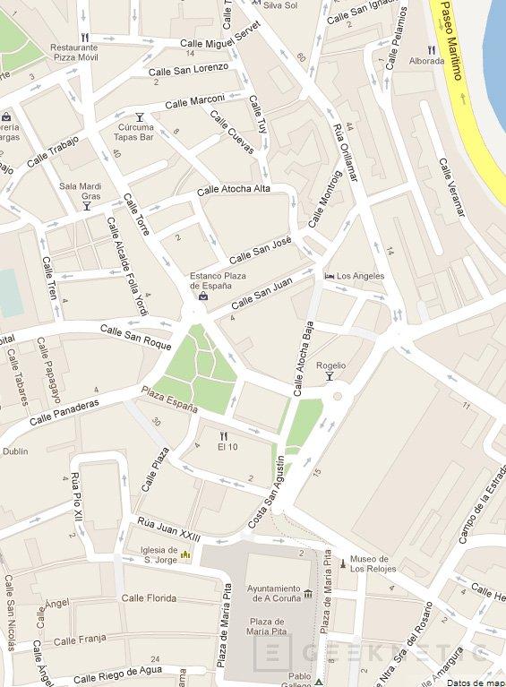 Google Maps, de nuevo disponible en iOS, Imagen 1