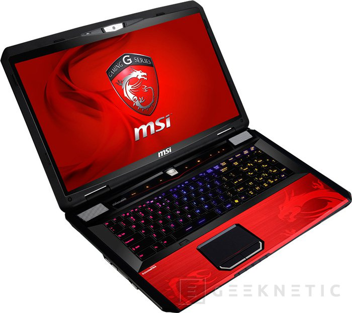 Portátil gaming MSI GT70 Dragon Edition, Imagen 1