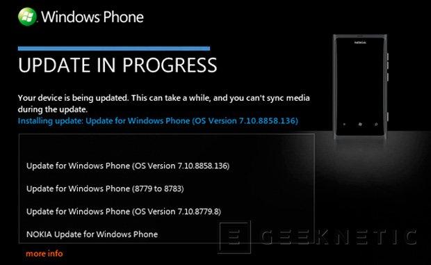 Nokia y Microsoft empiezan a lanzar Windows Phone 7.8 para los Lumia, Imagen 1