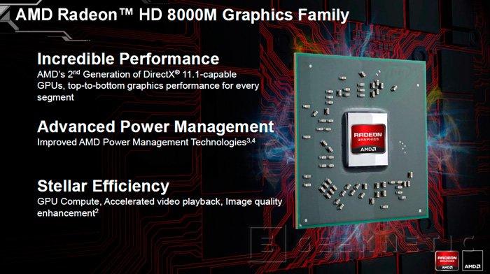 AMD presenta las nuevas Radeon HD 8000 para portátiles, Imagen 1