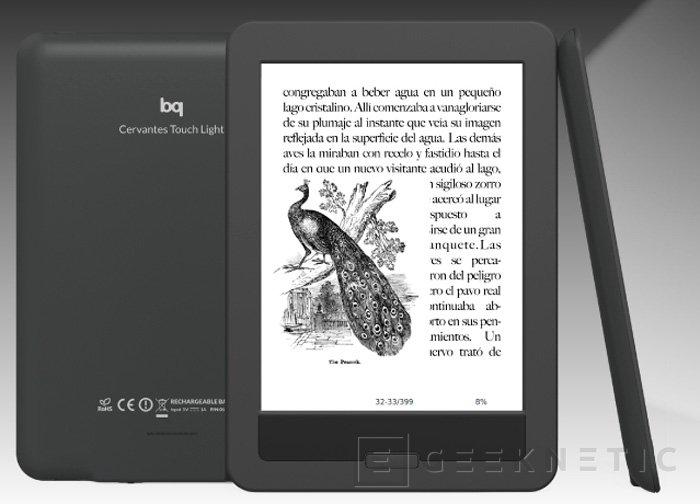 BQ lanza su libro electrónico Cervantes PaperWhite, Imagen 1