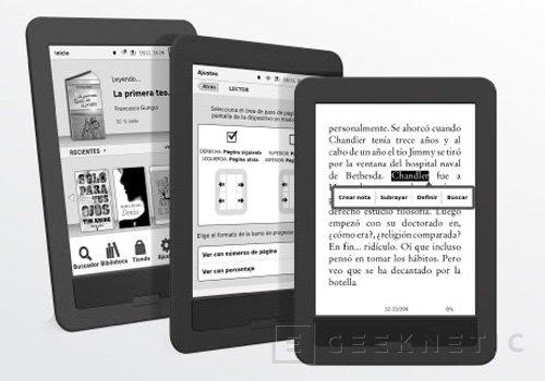BQ lanza su libro electrónico Cervantes PaperWhite, Imagen 2