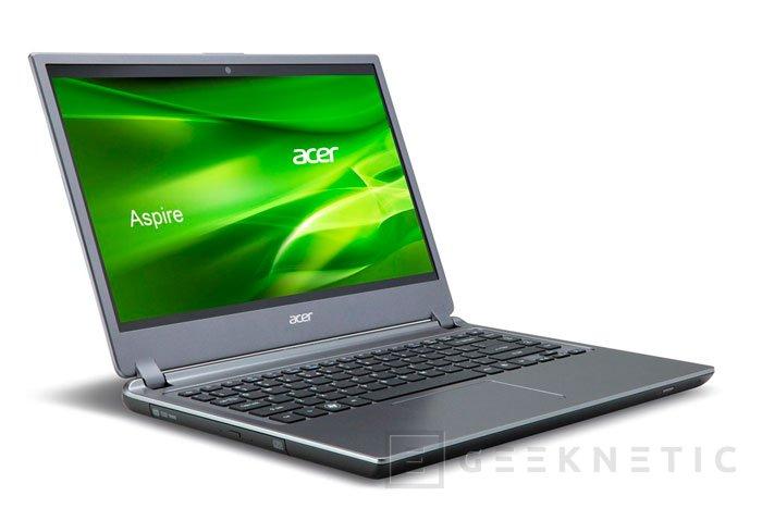 Nuevo Ultrabook Acer Aspire M3, Imagen 1