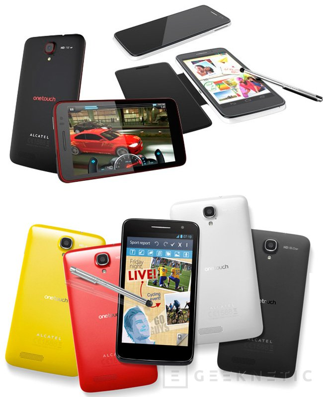 CES 2013. Alcatel presenta cuatro nuevos smartphones, Imagen 1
