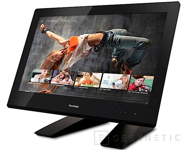 CES 2013. Viewsonic presenta nuevos monitores táctiles para Windows 8, Imagen 1