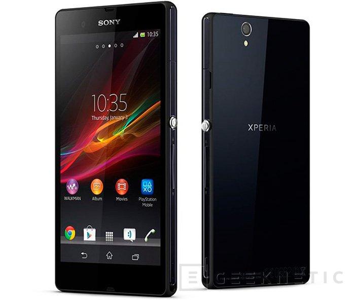 CES 2013. Nuevos Xperia de Sony, Imagen 1