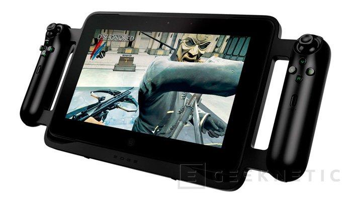 CES 2013. Tablet para juegos Razer Edge, Imagen 1