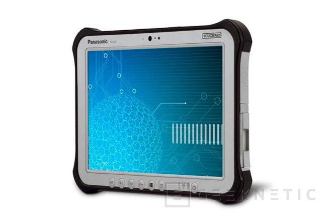 CES 2013. Panasonic Toughpad, tablets resistentes, Imagen 2
