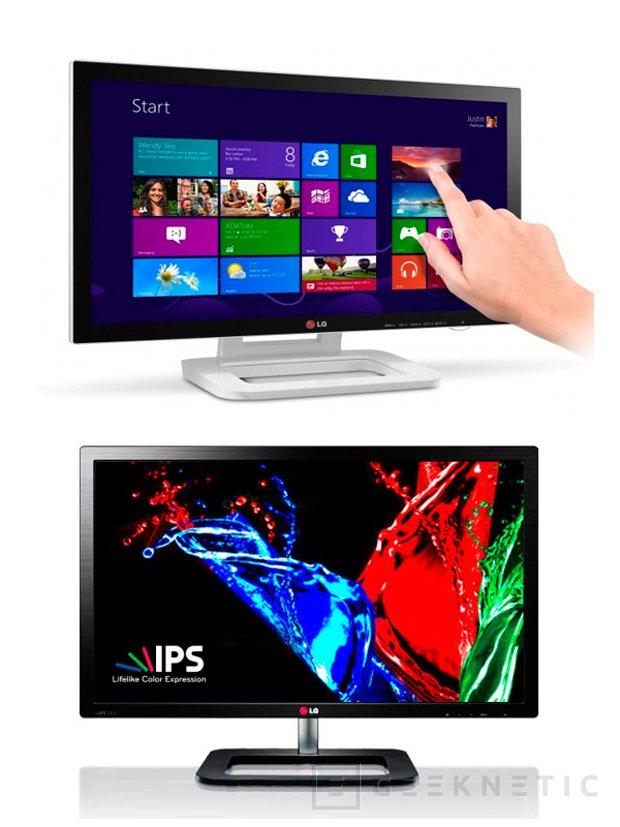 CES 2013. Nuevos monitores IPS de LG, Imagen 1