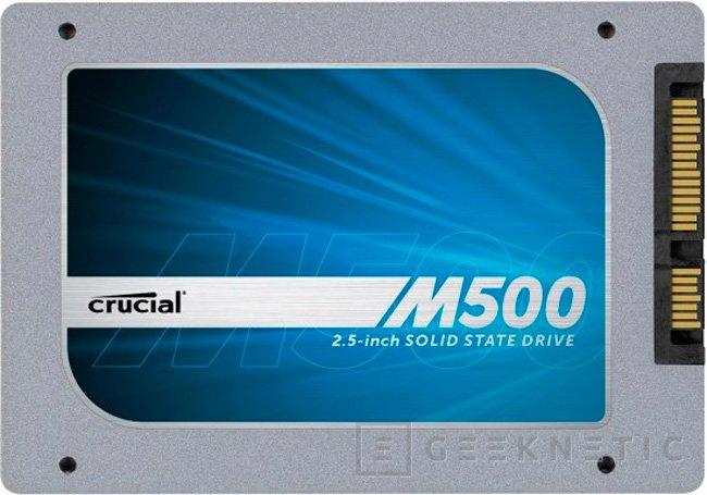 Crucial M500, SSD de hasta 960 GB, Imagen 1