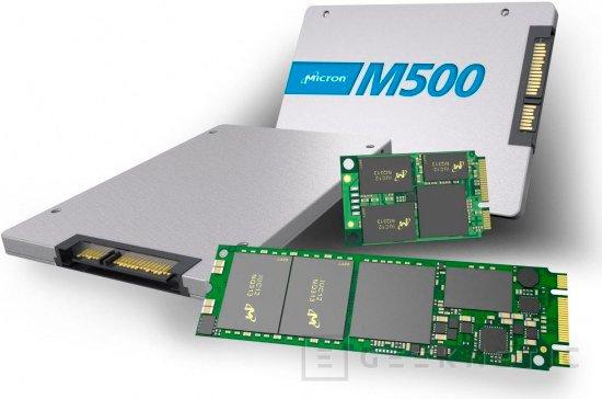 Crucial M500, SSD de hasta 960 GB, Imagen 2