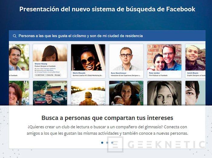 Facebook Graph Search, servicio de búsqueda dentro de la red social, Imagen 1