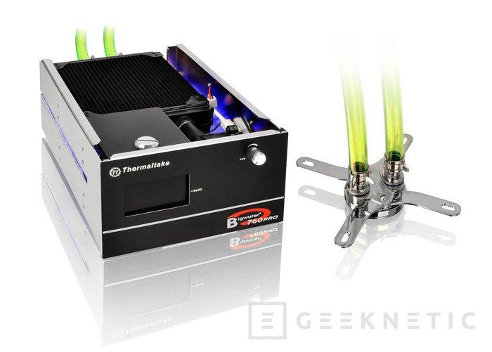 Thermaltake Bigwater 760 Pro, refrigeración líquida integrada, Imagen 1