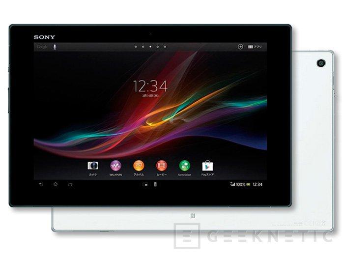 Sony muestra los detalles del Xperia Tablet Z, Imagen 1
