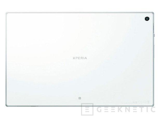 Sony muestra los detalles del Xperia Tablet Z, Imagen 2