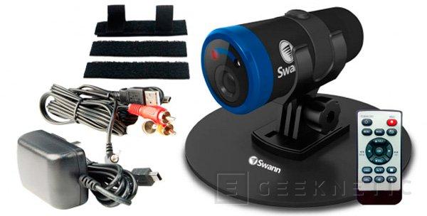 Swann lanza la Bolt HD, nueva cámara para deportes extremos, Imagen 1