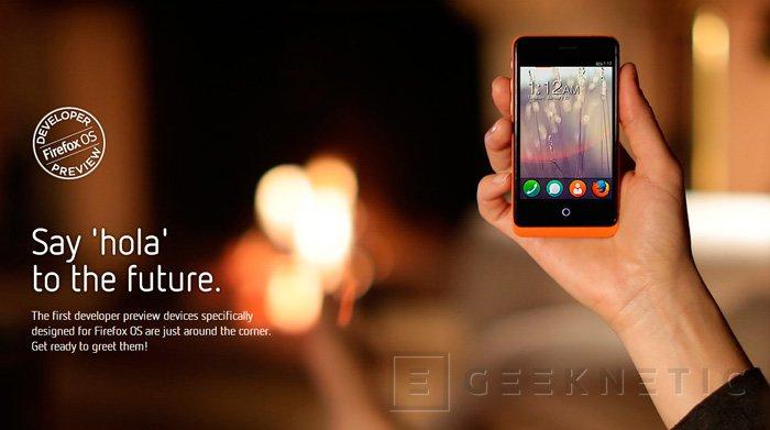 GeeksPhone presenta dos teléfonos con Firefox OS, Imagen 1