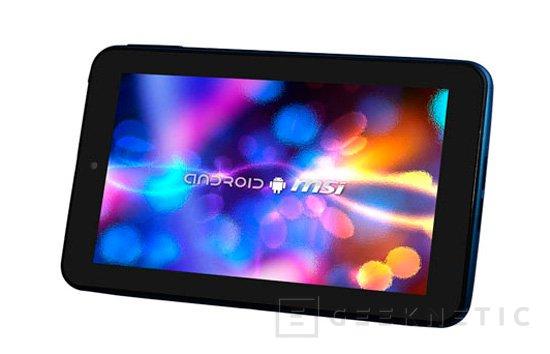 MSI también lanza una tablet de bajo coste, Imagen 1