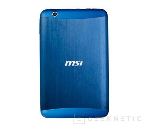 MSI también lanza una tablet de bajo coste, Imagen 2