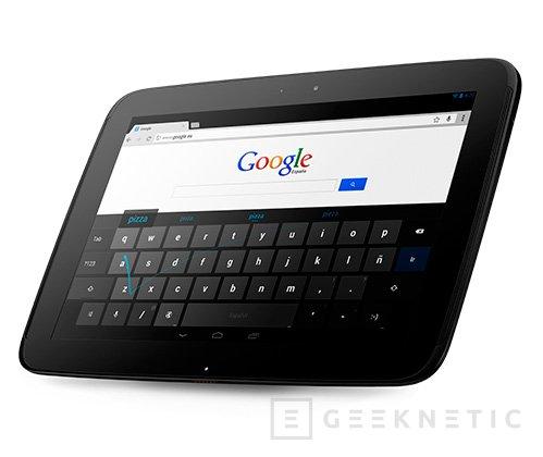 El tablet Nexus 10 de Google vuelve a estar a la venta, Imagen 2