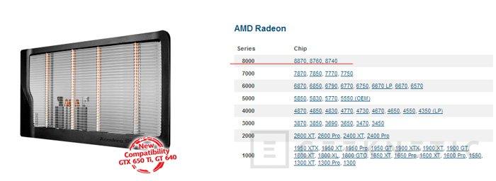Filtrada la lista de modelos de las próximas AMD Radeon HD8000, Imagen 1