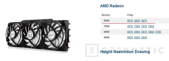 Filtrada la lista de modelos de las próximas AMD Radeon HD8000, Imagen 2
