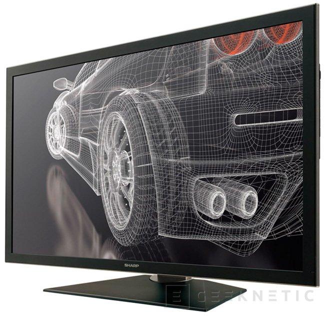 Sharp anuncia un monitor 4k con panel IGZO, Imagen 1